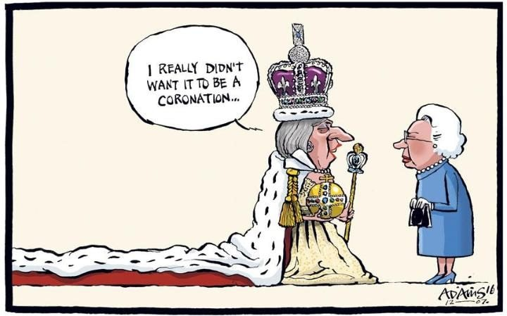 Image result for theresa may cartoons
