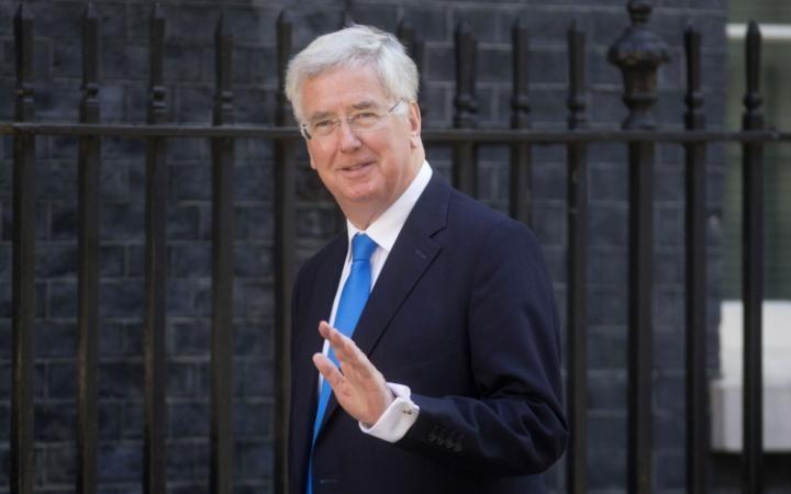 Sir Michael Fallon, the Defence Secretary