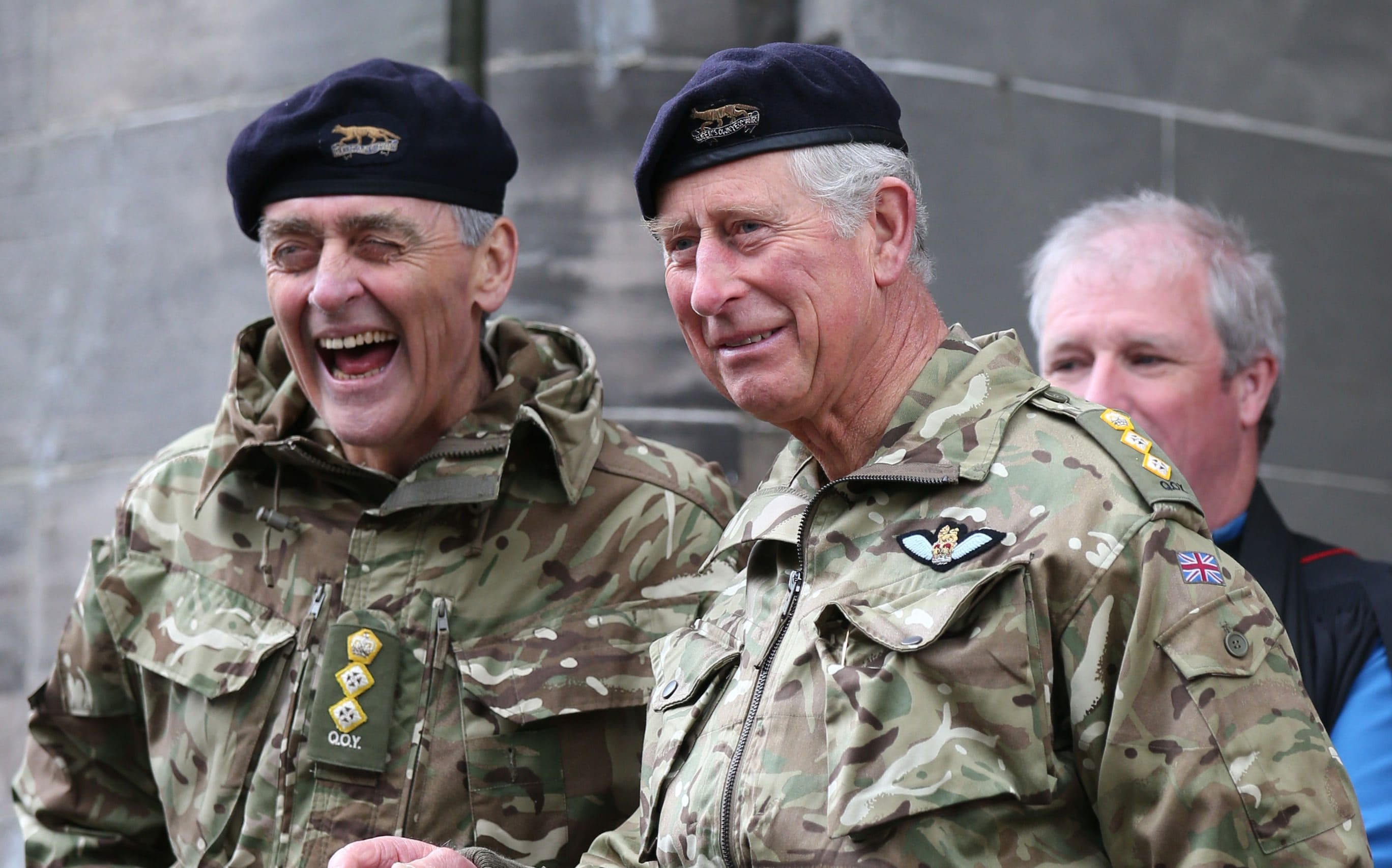 The 6th Duke of Westminster, who died in 2016, and his friend Prince Charles