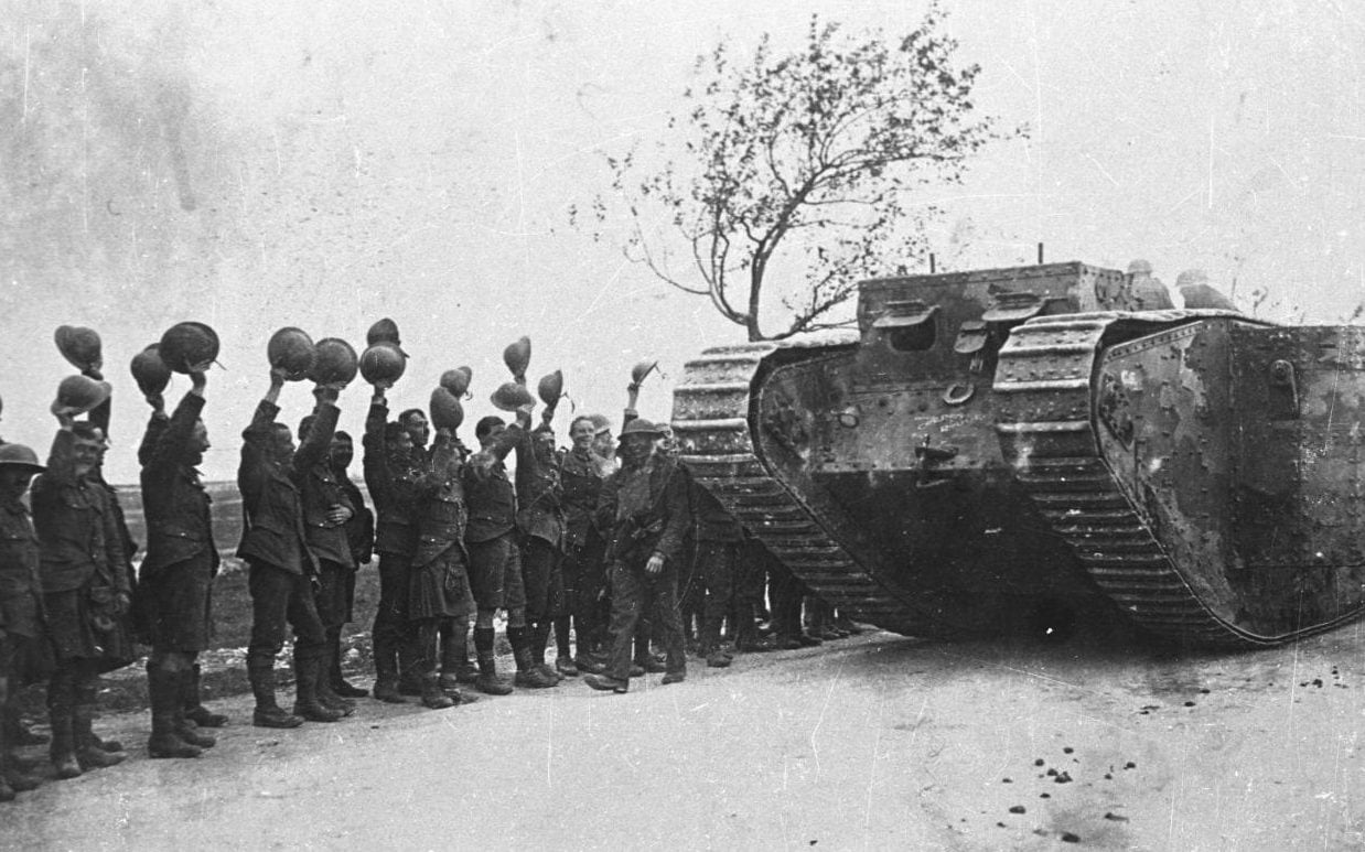 How The Daily Telegraph Reported The First Use Of Tanks In