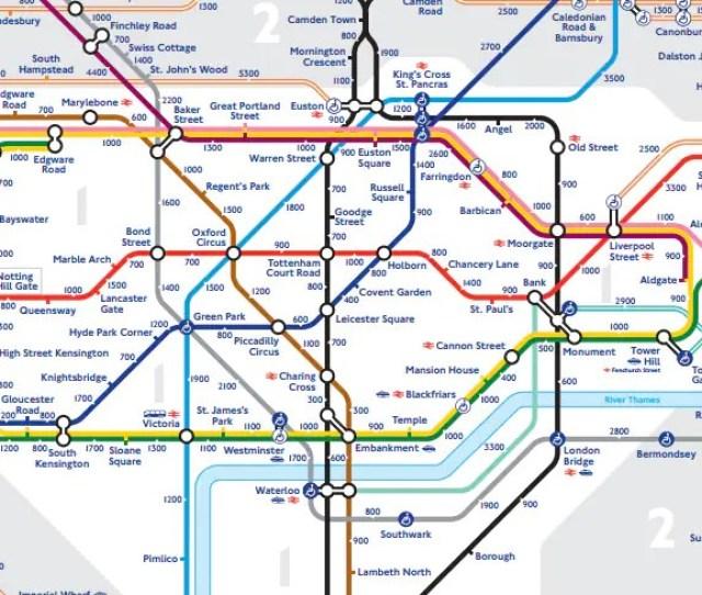 Alternative Walking Steps Tube Map Download