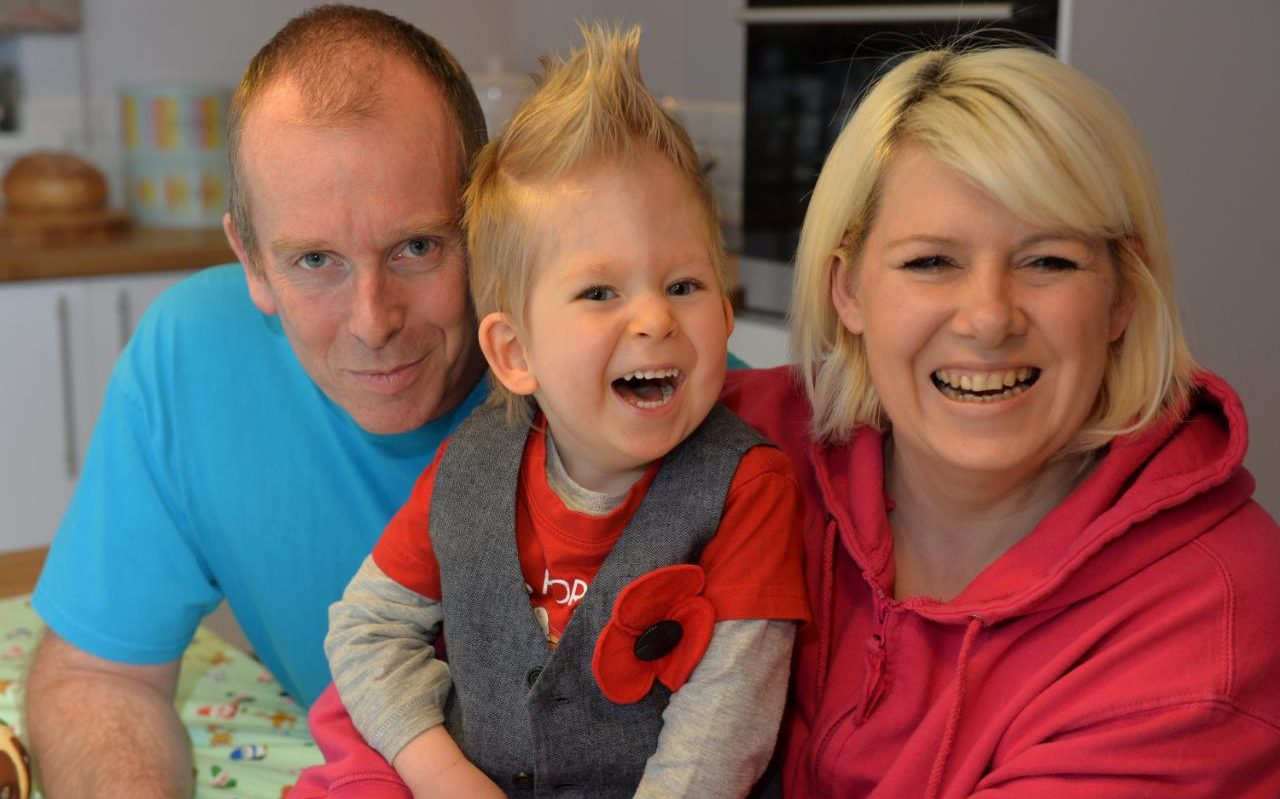 Miracle Boy Who Stunned Medical Experts Celebrates First