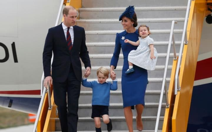 The children will be seen arriving in Poland and Germany, as they were in Canada last year
