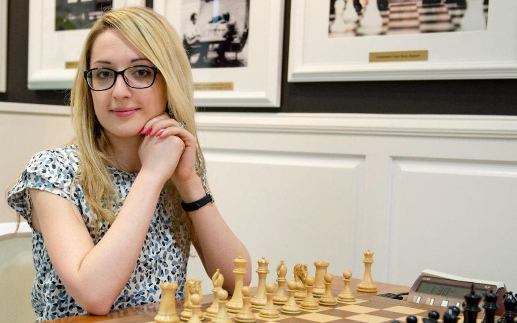 Nazi Paikidze, the US women's champion