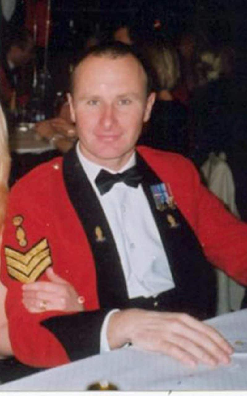 Staff Sergeant Simon Cullingworth