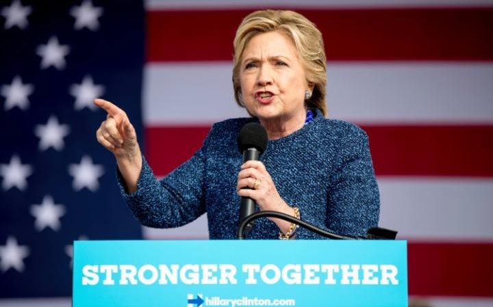 Hillary Clinton makes no mention of her emails