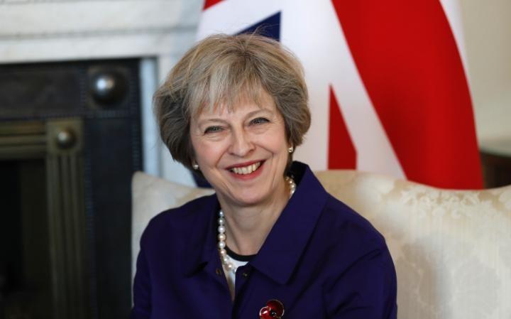 Theresa May congratulates Donald Trump
