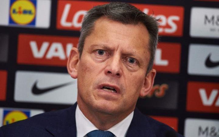 Football Association chief executive Martin Glenn