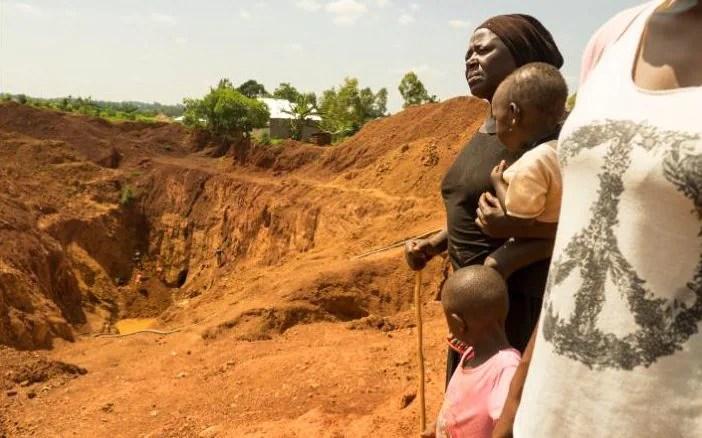 miners in uganda