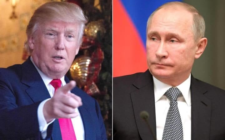 Image result for donald trump and vladimir putin at G20