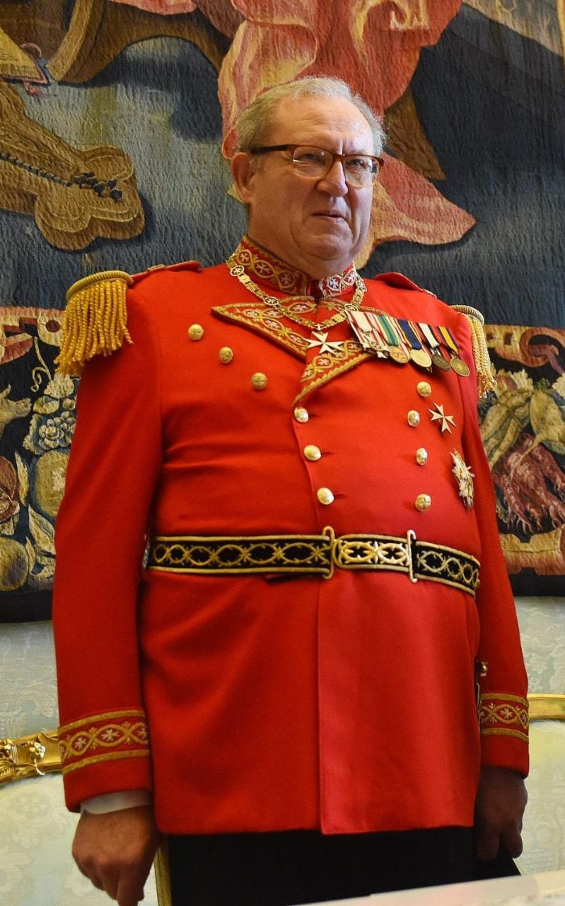 Matthew Festing is only the second Briton to be made Grand Master of the Order of Malta since 1258.