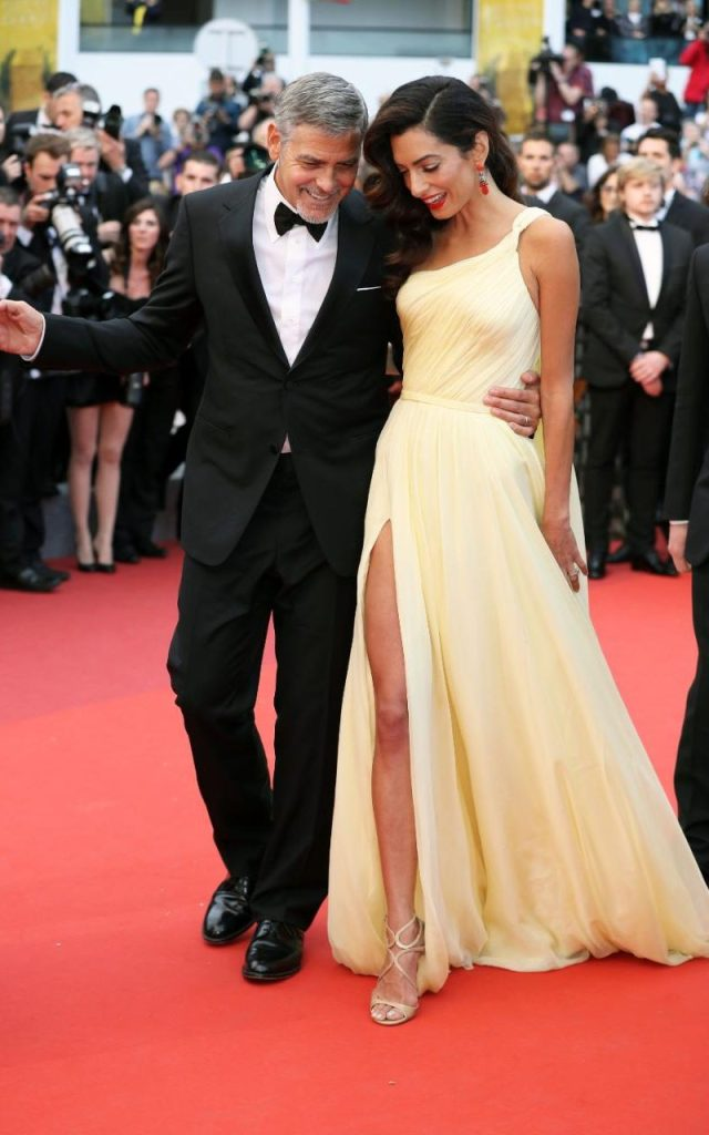 The Clooneys in Cannes