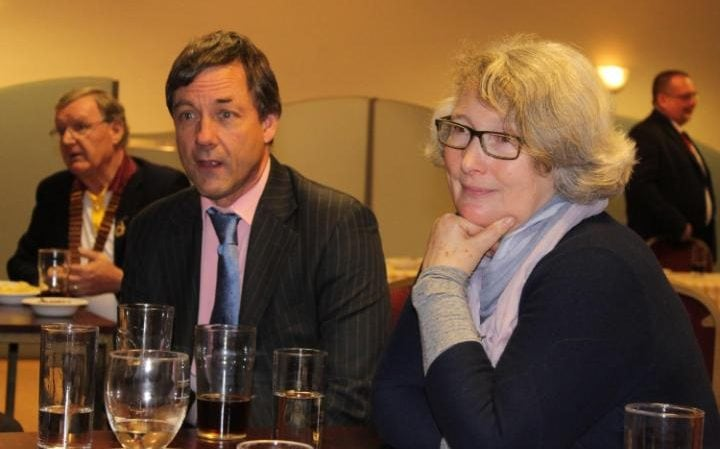 Image result for Mustard heir, Mr Colman, and his wife Susan