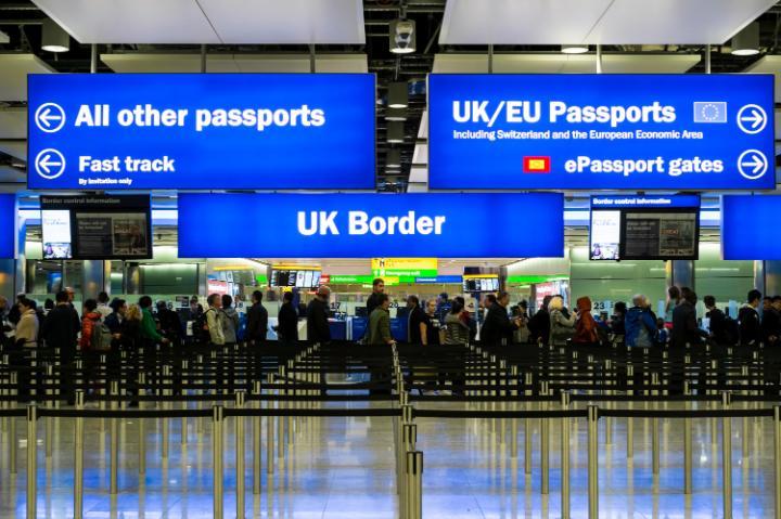 Britain has seen near record levels of EU migration