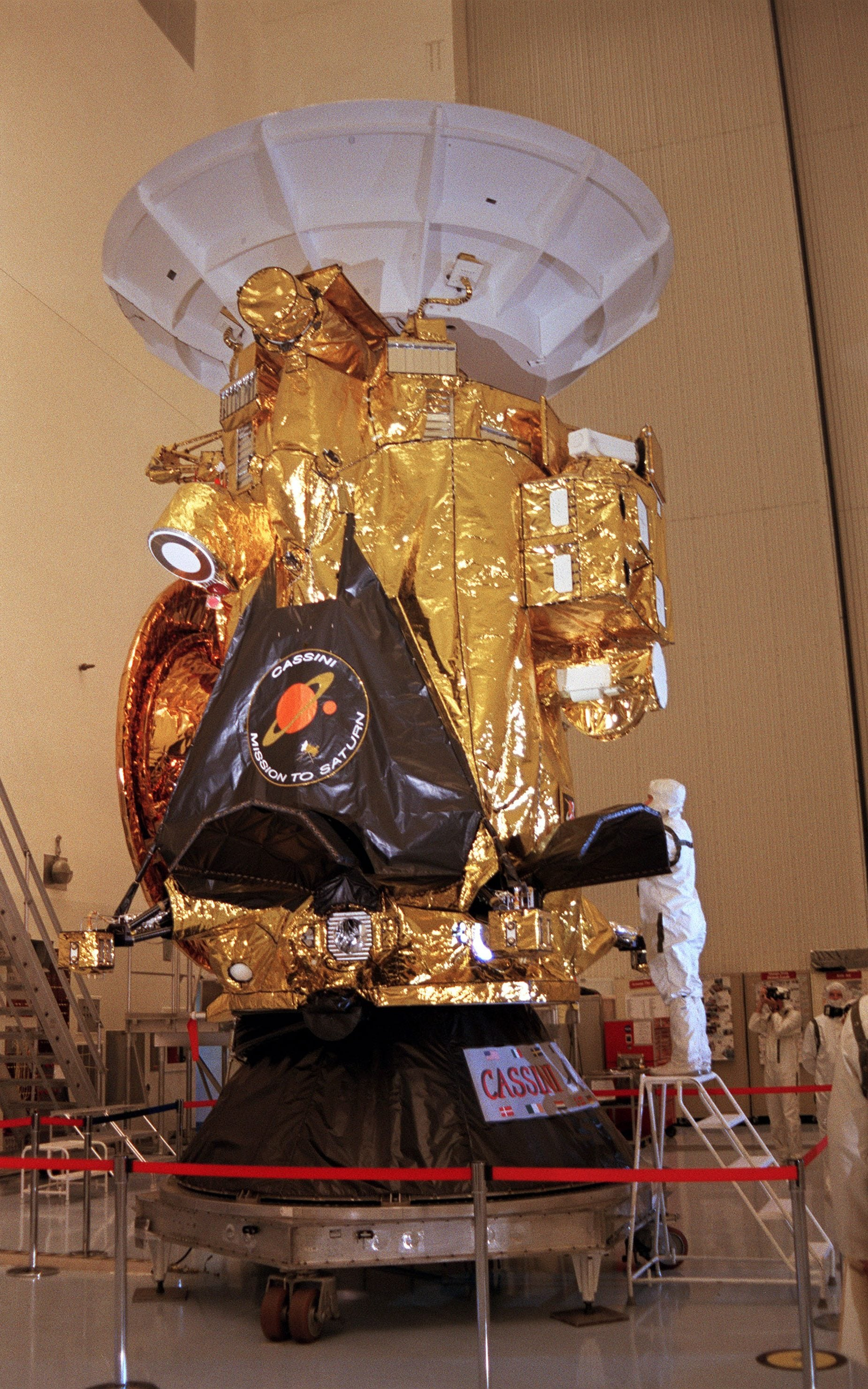 Nasa satellite Cassini set for grand finale with fiery ...