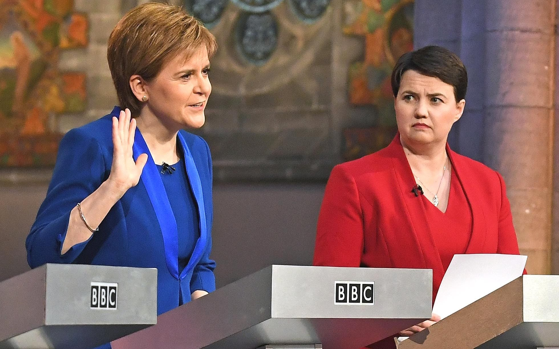 """Ruth Davidson plans to put the constitution to one side and focus on """"bread-and-butter"""" issues"""