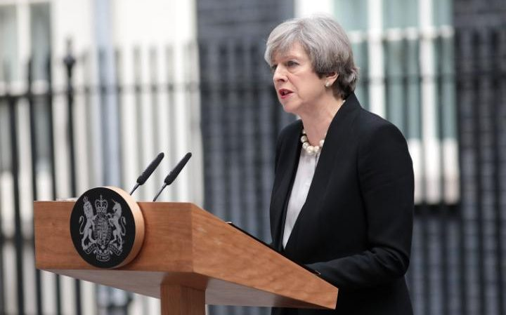 Theresa May, the Prime Minister, delivered a statement on Tuesday morning on the Manchester terror attack