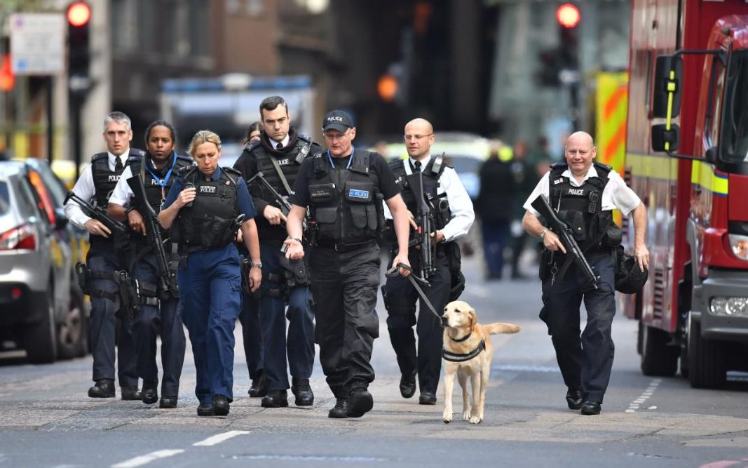 Image result for photos of london bridge attack
