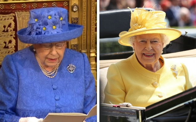 Her duties for the day are done and the Queen can now enjoy Ascot