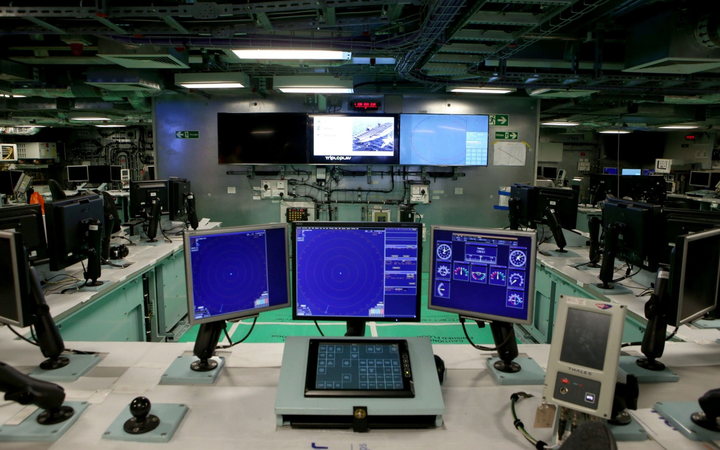 New Equipment Inside The Operations Room Ahead Of Sea