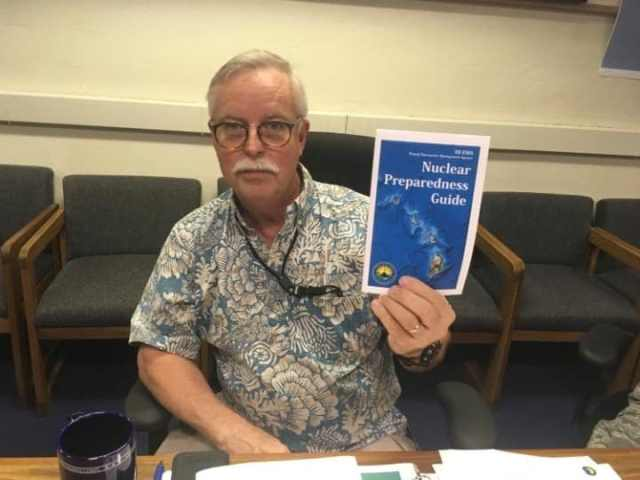 Toby Clairmont, the Hawaii Emergency Management Agency's executive officer,