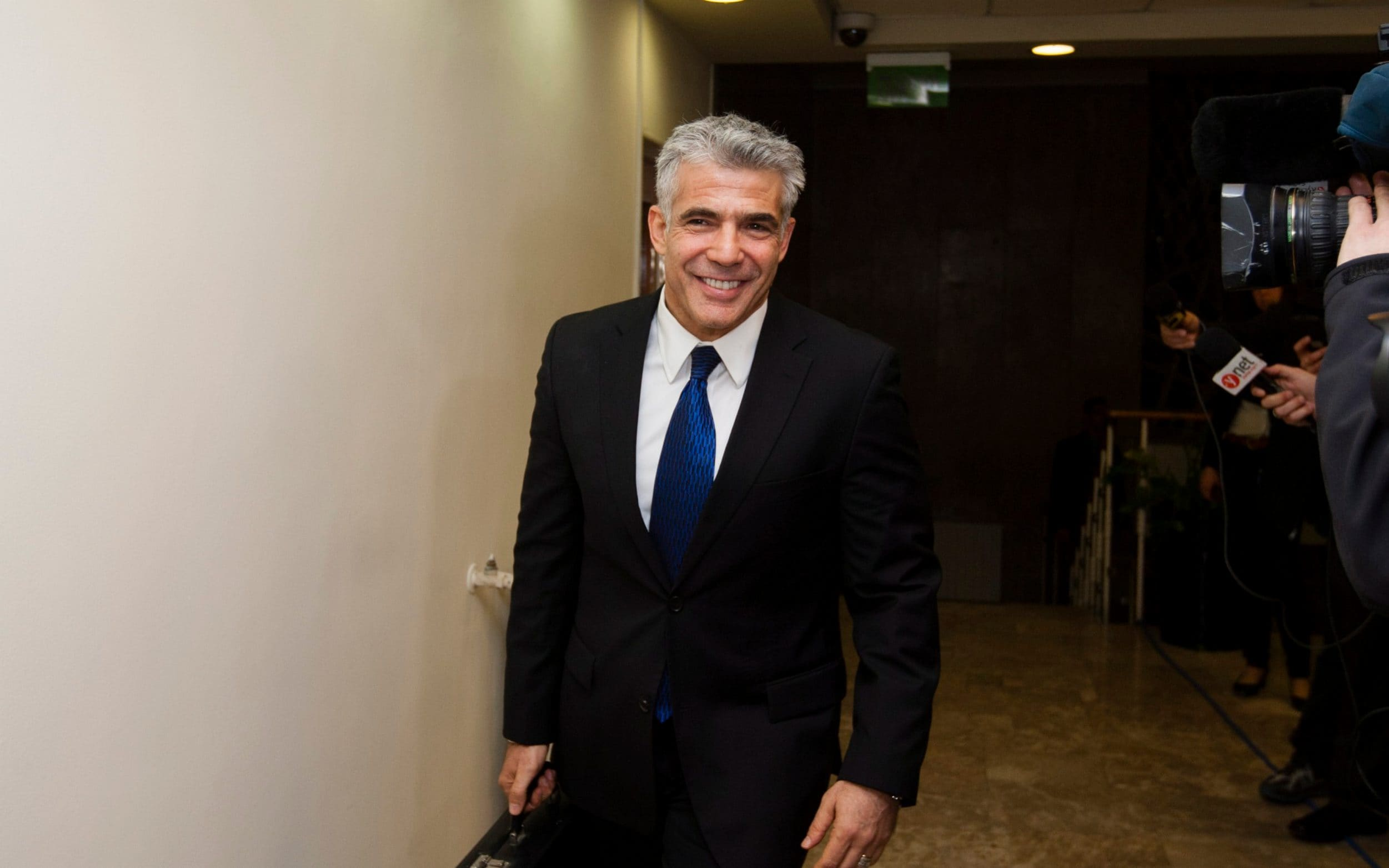 Yair Lapid, the leader of the centrist Yesh Atid party, is a possible replacement for Mr Netanyahu if there are elections