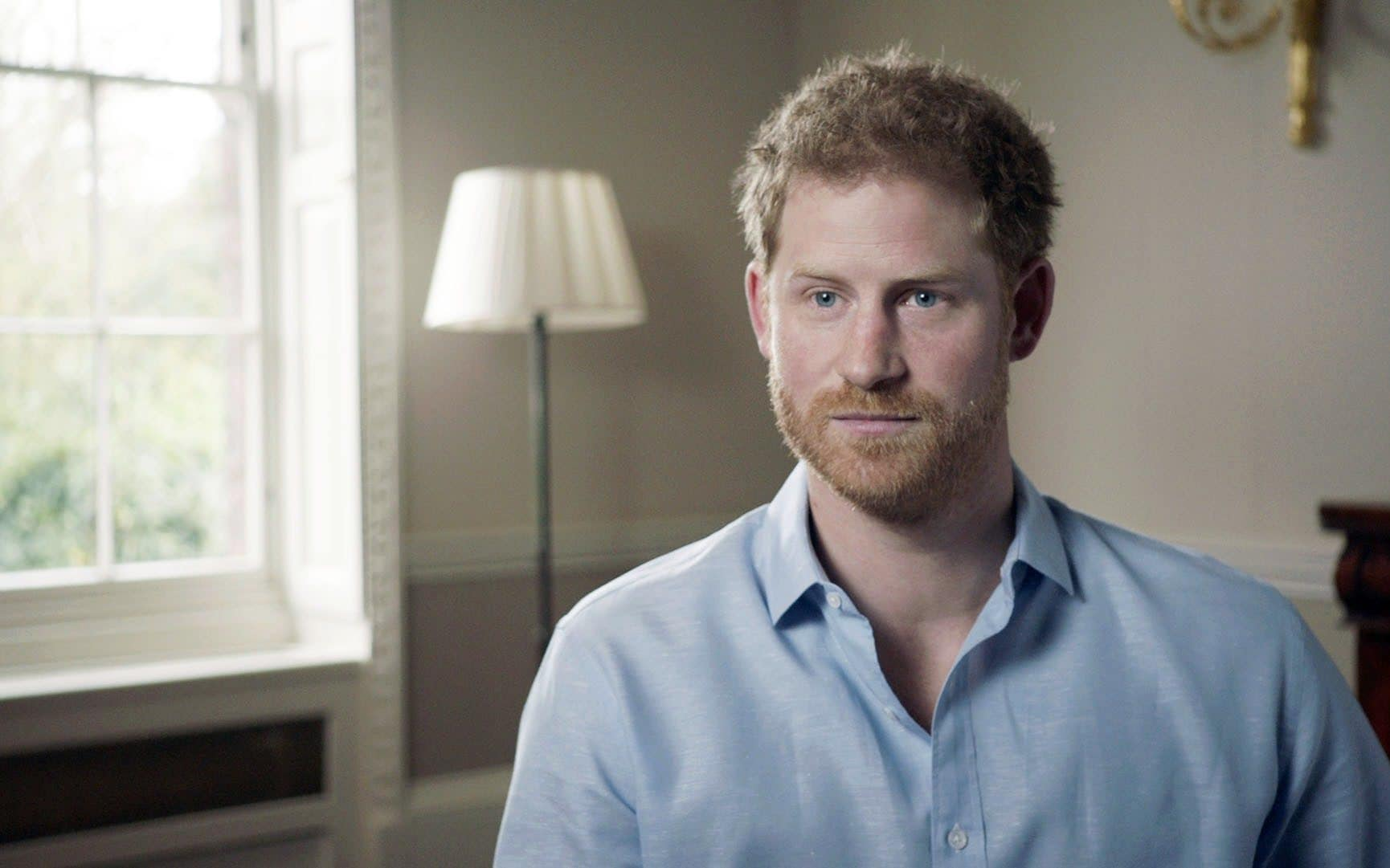 Prince Harry speaks to the BBC