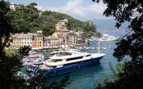 Portofino is one of several Riviera villages resisting the migrant settlement plan.