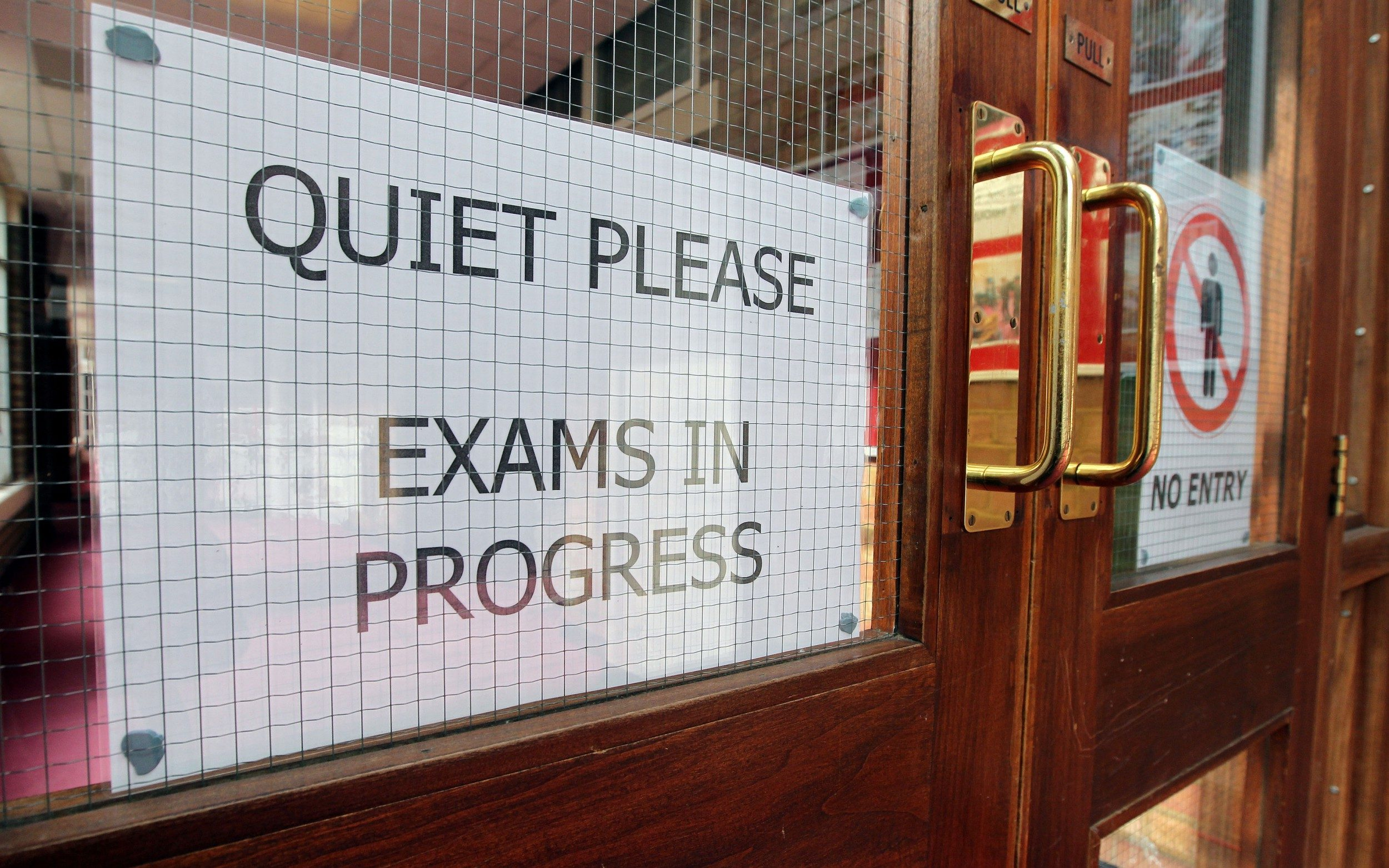 Pupils had their places withdrawn at a grammar school after failing to achieve certain grades
