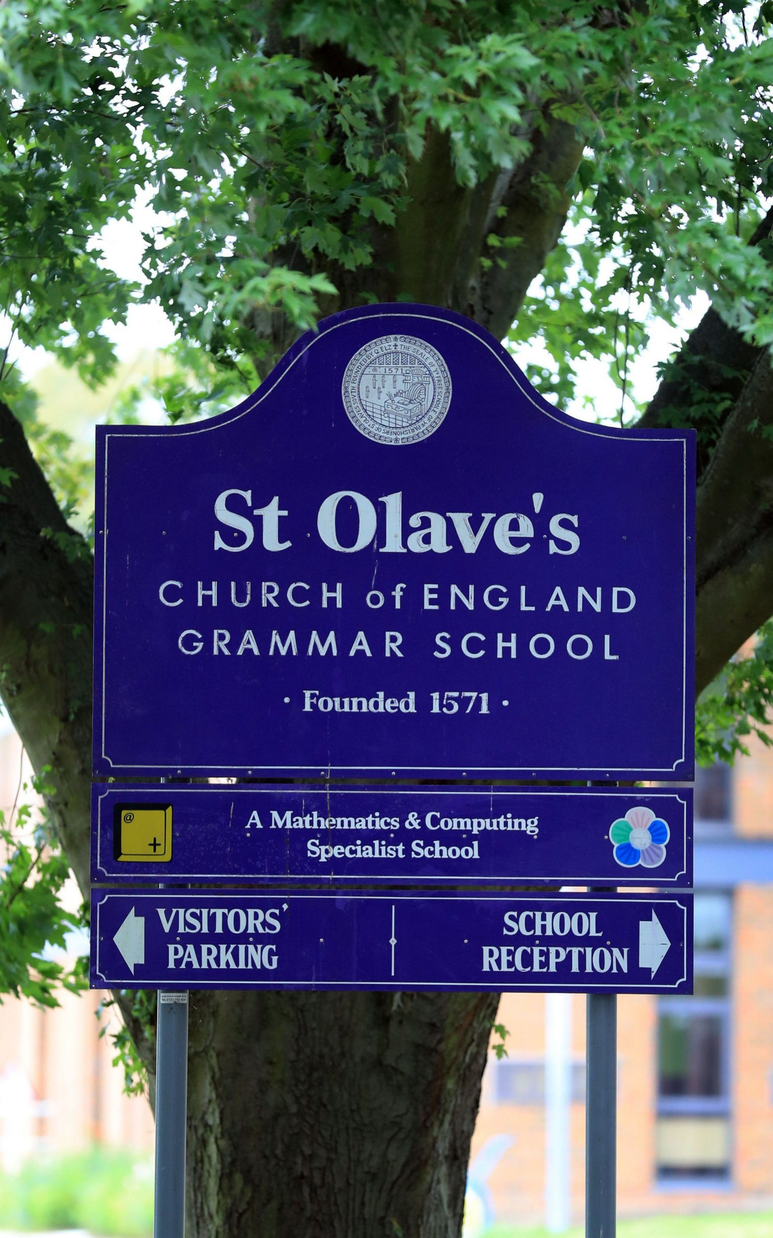 Legal action was being pursued against the governing body of St Olave's