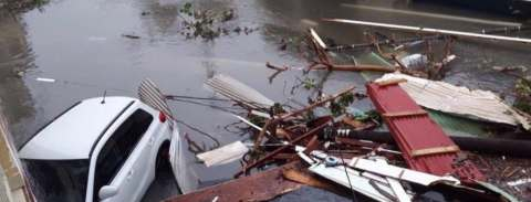 Image result for Monster storm leaves wake of damage in the Dominican representatives
