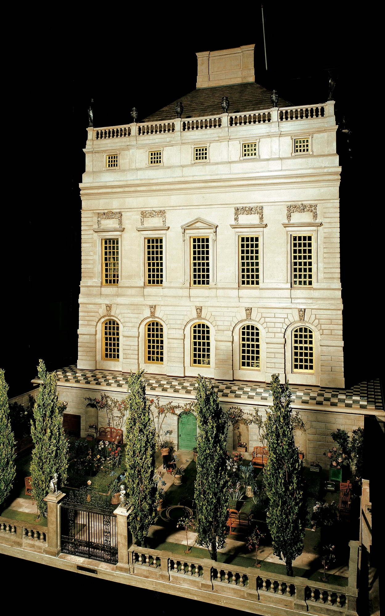 Queen Mary's Dolls' House is on display at Windsor Castle