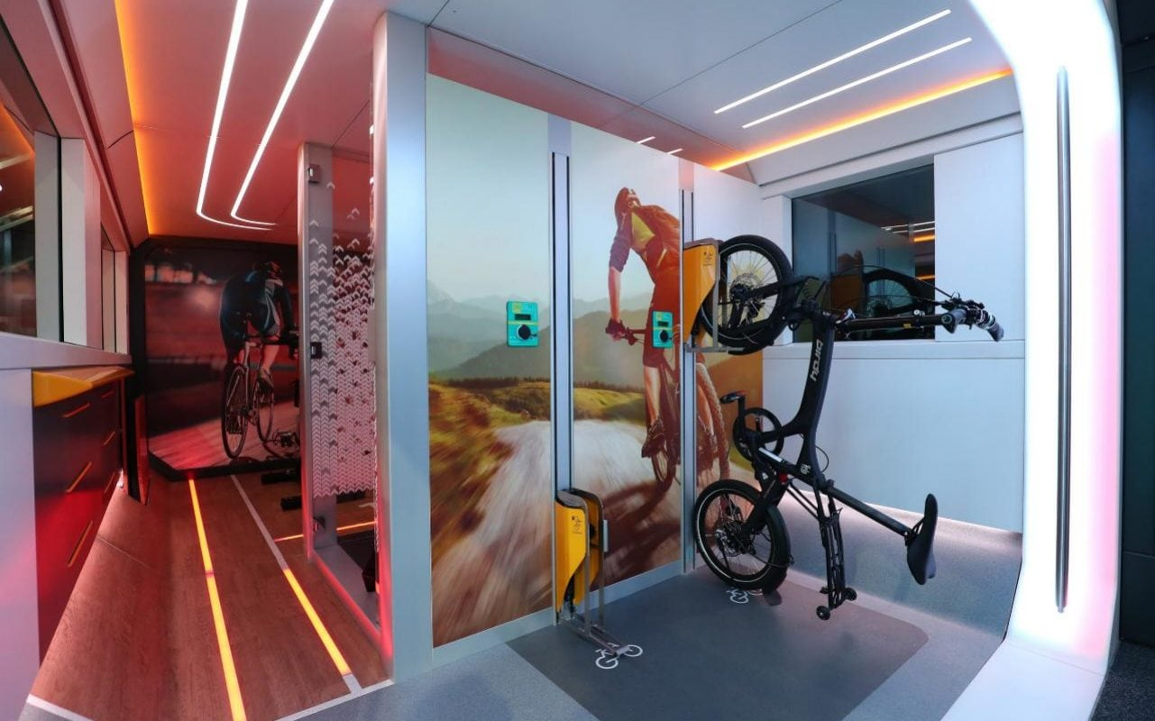Hit The Gym While You Commute On The German Train Of The