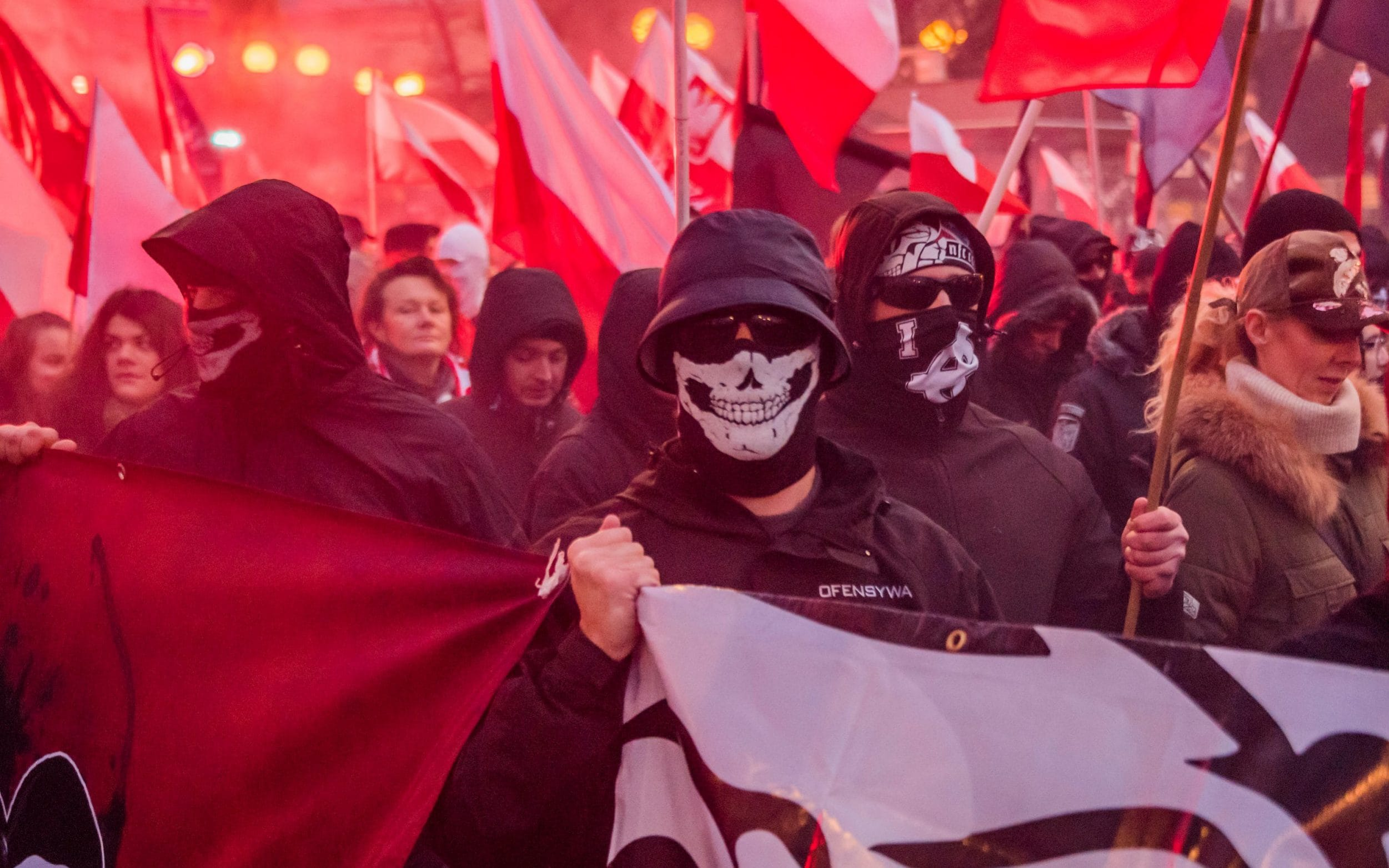 Thousands of Fascists & other far-right extremists from ...