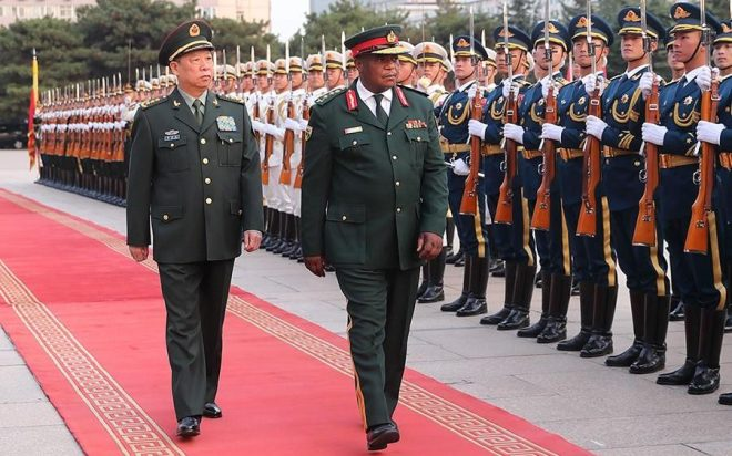 Image result for chiwenga in china
