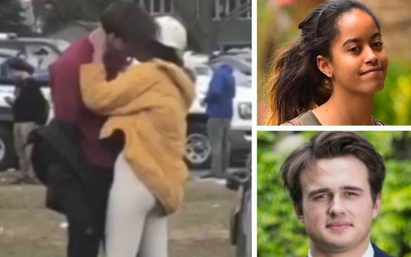 Malia Obama s British boyfriend feared girls did not like him as he     Rory Farquharson  a former head boy at the prestigious Rugby School  pictured bottom right