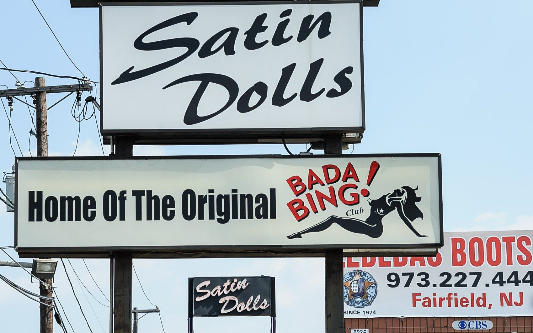 """Satin Dolls, the New Jersey strip club that doubled as the Bada Bing on """"The Sopranos"""""""