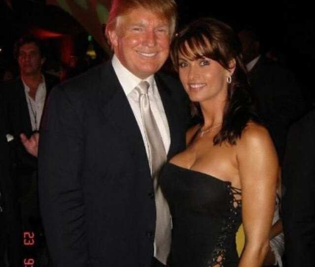 Karen Mcdougal With Donald Trump In Pictures She Posted In September 2015 On Twitter The