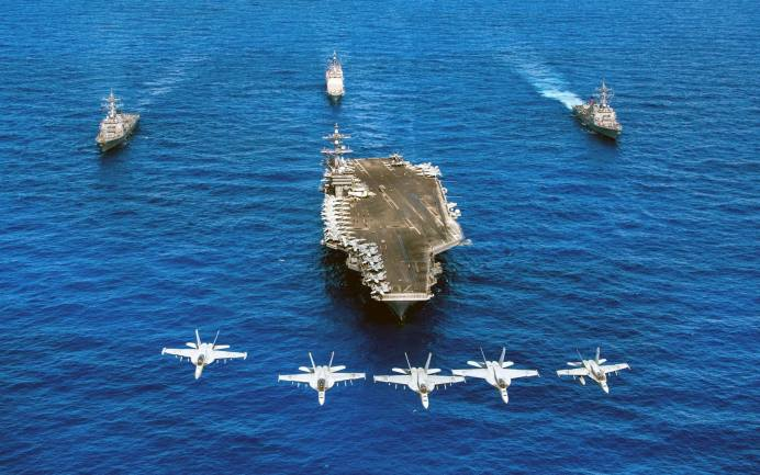 Nimitz-class aircraft carrier USS Carl Vinson to dock in the Vietnamese coastal city of Danang in March