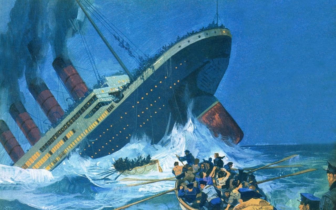 On This Day In The Sinking Of Rms Titanic
