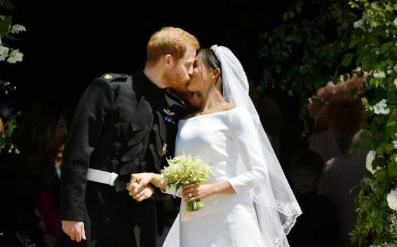 Image result for Wedding of Prince Harry and Meghan Markle