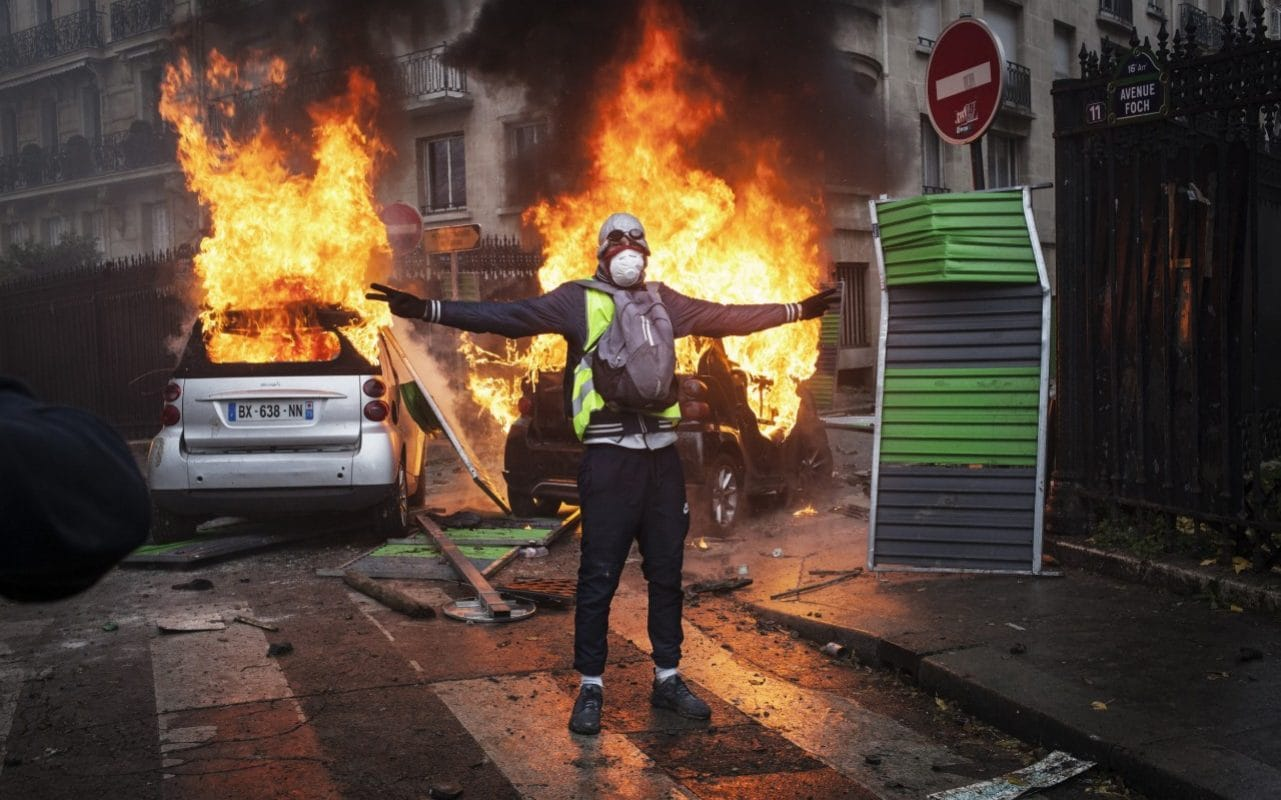 French Pm To Announce U Turn Of Fuel Tax Hikes To End