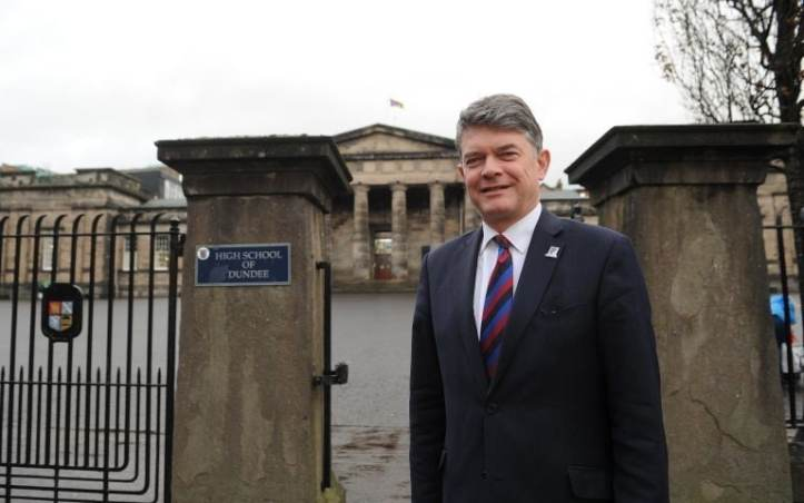 John Halliday, rector of the High School of Dundee