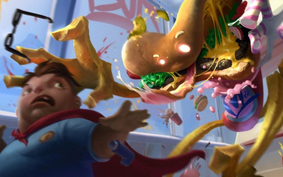 Concept art du jeu de société The Floor Is Larva