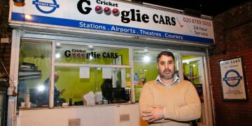Goooglie Cars minicab boss hits sticky wicket after web giant sues him for mimicking its logo