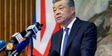 Chinese ambassador to UK accuses Britain of covertly backing Hong Kong protesters