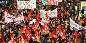 France endures second day of mass pension protests as Macron government approaches 'second of reality'