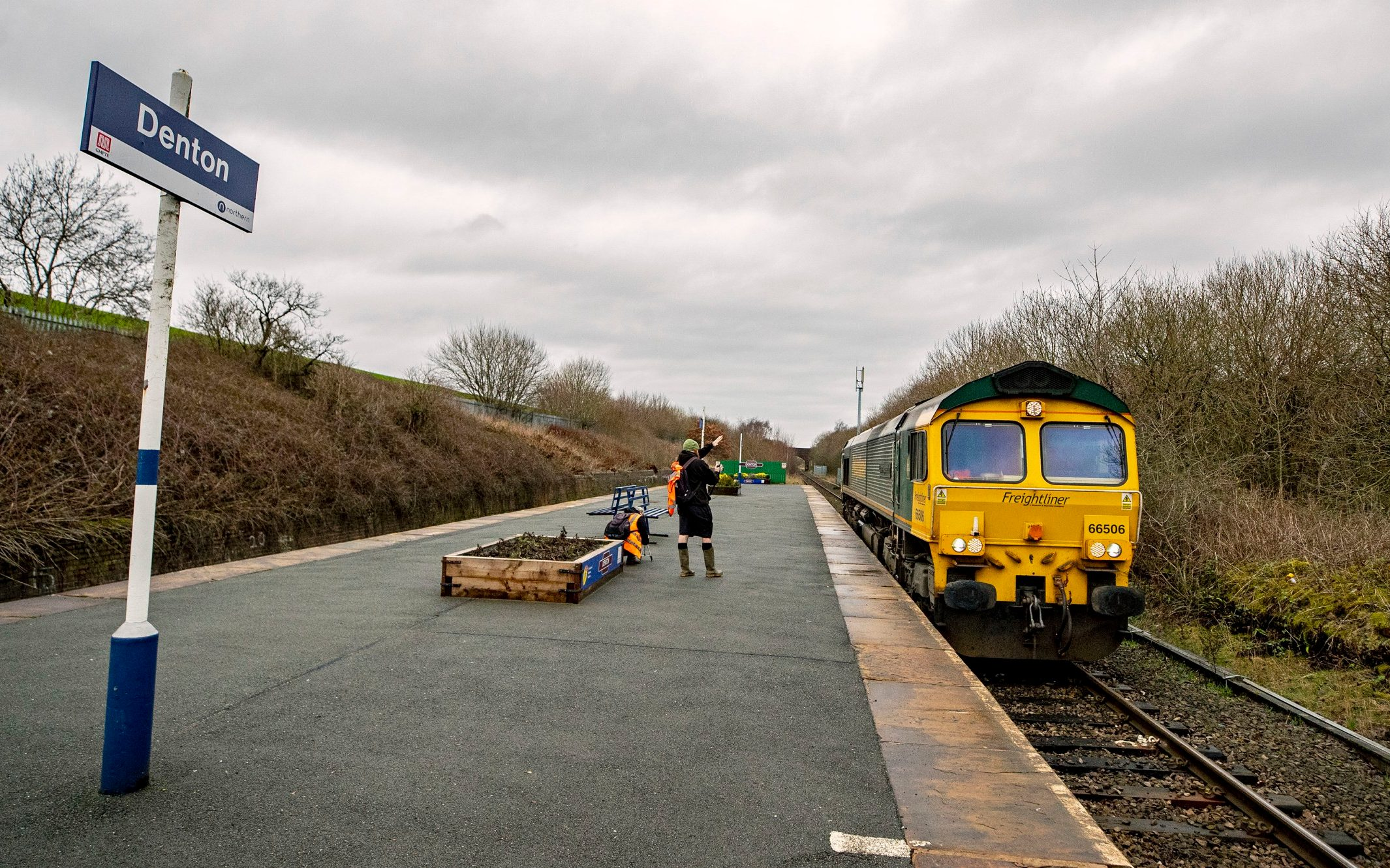 How being named as Britain's loneliest railway station brings a boost to business, figures show