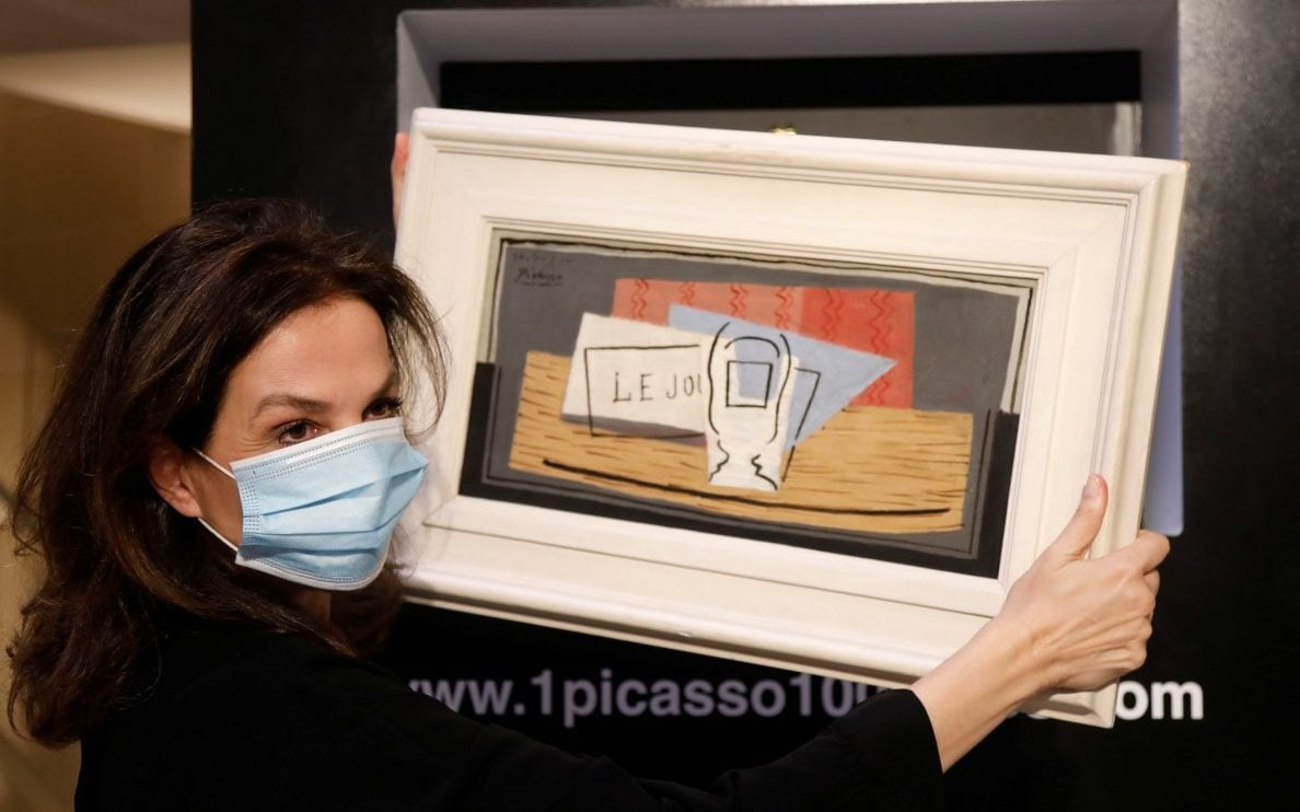 Italian mother wins Picasso painting worth 898,000 in a raffle