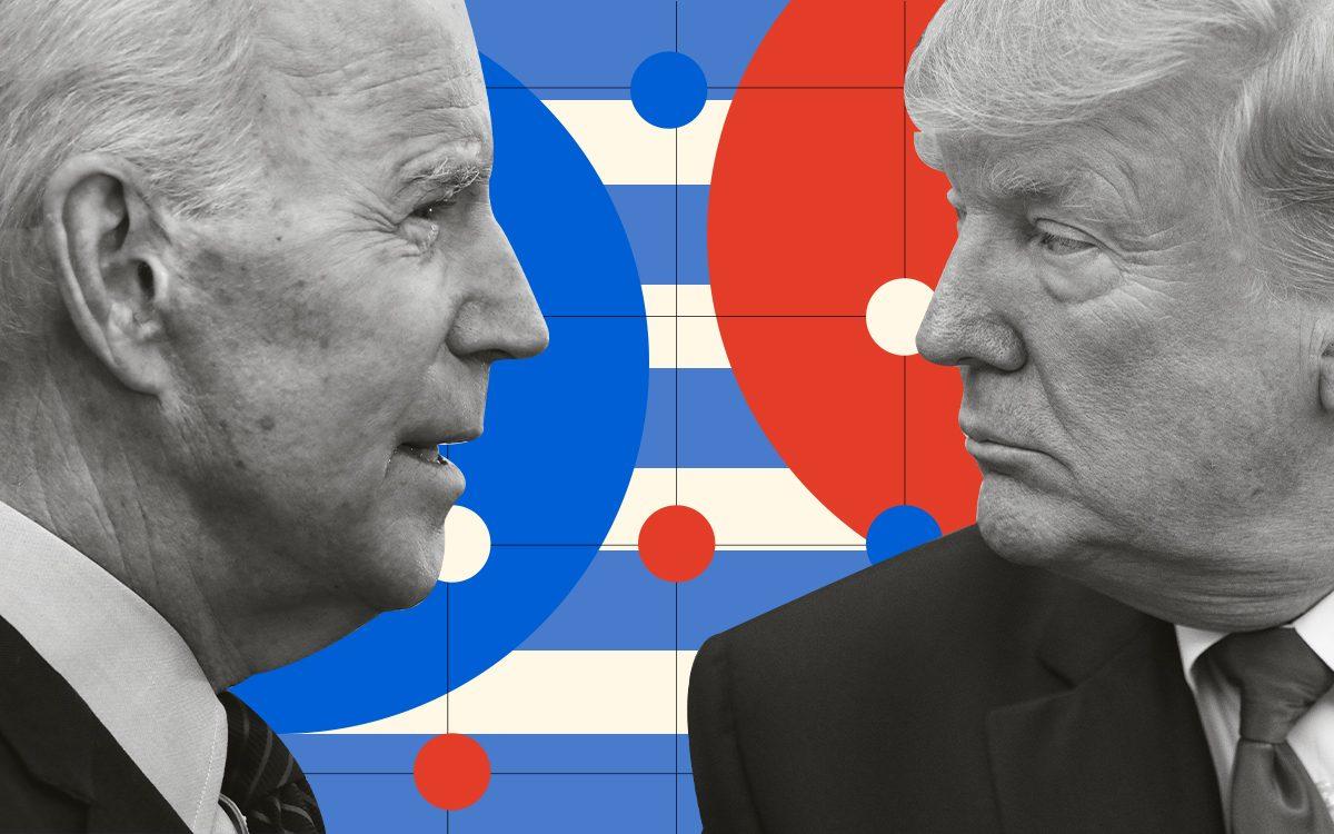 How Joe Biden and Donald Trump are preparing for their big  clash